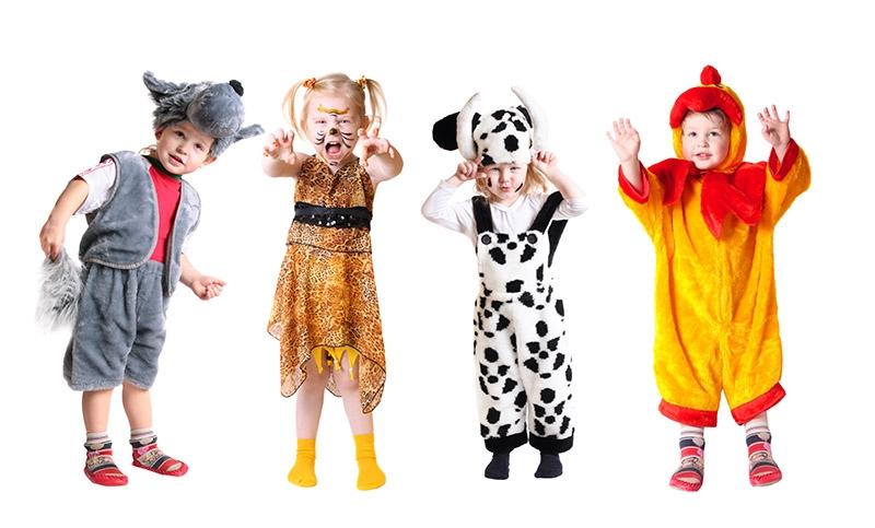Картинки костюмы на новый год для детей